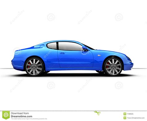 sports cars side view side view of a 3d rendered sports car stock illustration