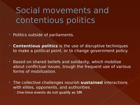 introduction to comparative politics political challenges and changing agendas books introduction to comparative politics social movements