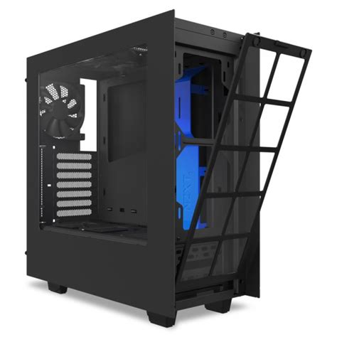 nzxt s340 fans nzxt s340 mid tower computer 1x 120mm top fan 1x