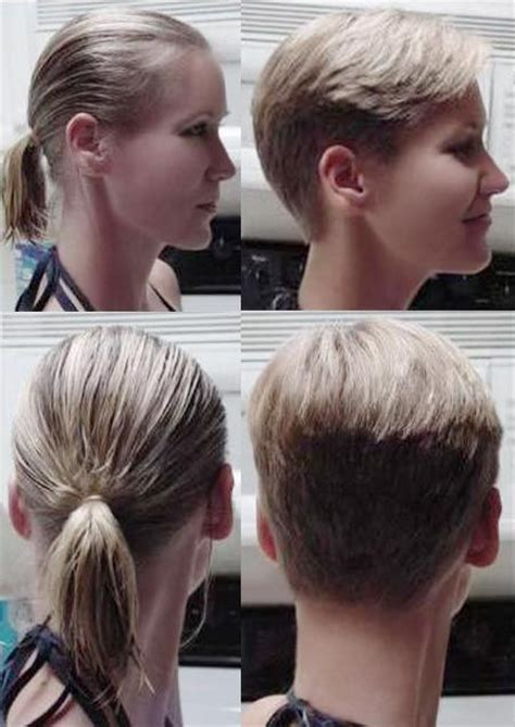 great pixie haircut makeovers 127 best images about hair before and after haircuts on