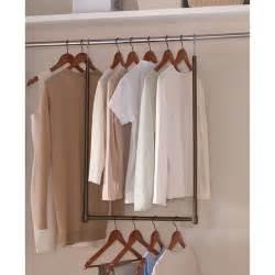 mainstays expanding closet space bronze walmart