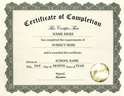 certificate of completion template free free templates for middle school certificate templates