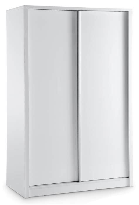 Sliding Door White Wardrobe by Novello 2 Door Sliding Wardrobe White Lpd Furniture