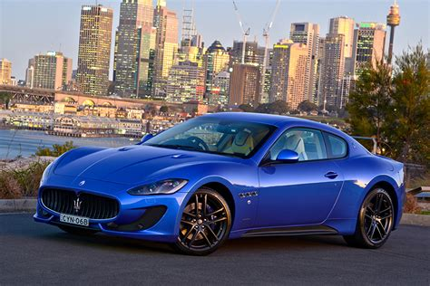 Maserati Photos by Photos Maserati 2015 Pininfarina Granturismo Mc Sportline Blue