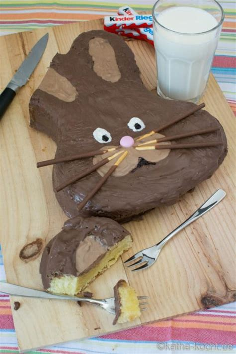 kinderschokolade kuchen osterhasen kuchen kinderschokolade kuchen katha kocht