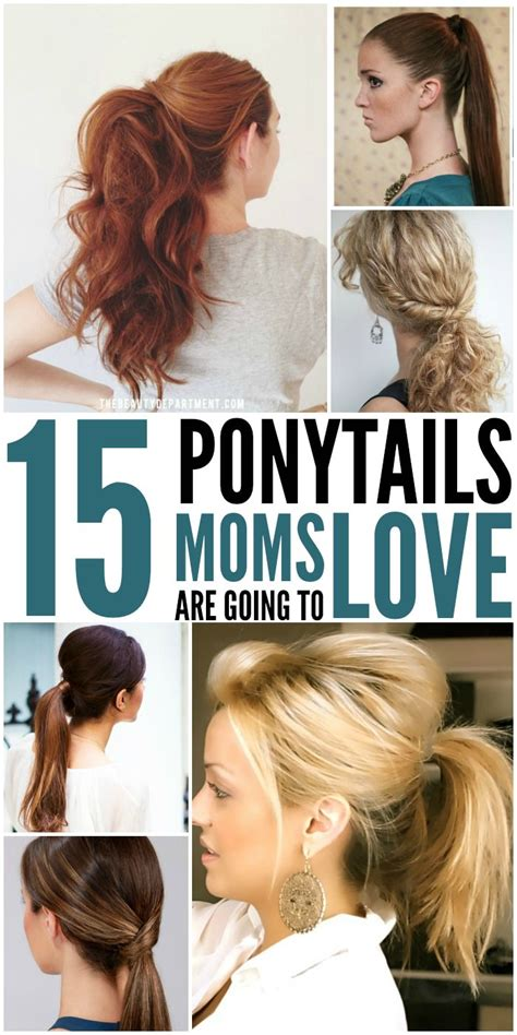 hairstyle ideas and how to do them cute mom haircuts for long hair hair
