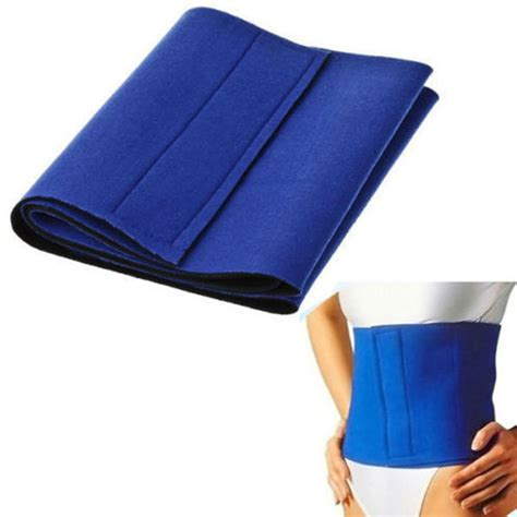 Slimmimg Belt 2pcs neoprene slimming belt sauna wrap burn cellulite waist tummy weight lose lazada malaysia