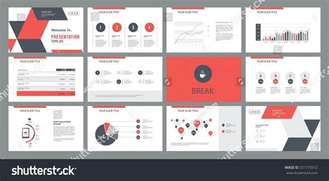 graphic design z layout page layout design template presentation slide stock