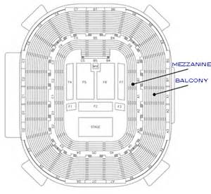 concert floor plan hton convocation center