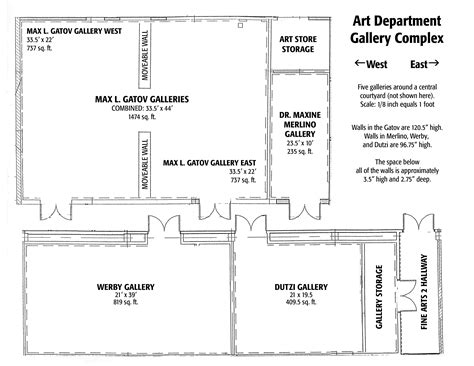 gallery floor plans csulb school of students gallery guidelines floorplans