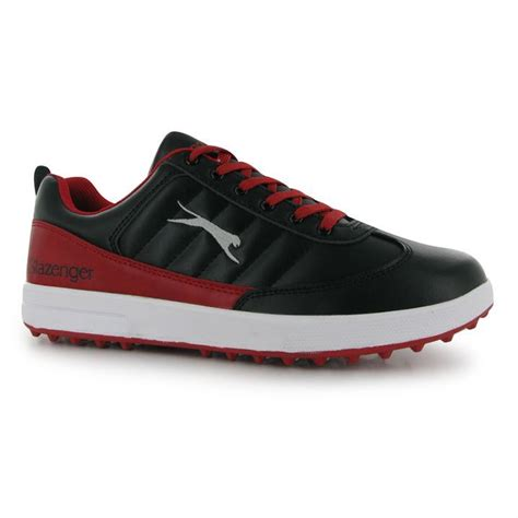 slazenger mens casual golf shoes shaped and padded ankle