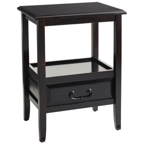 Pier One Accent Tables by Anywhere End Table Rubbed Black Pier 1 Imports