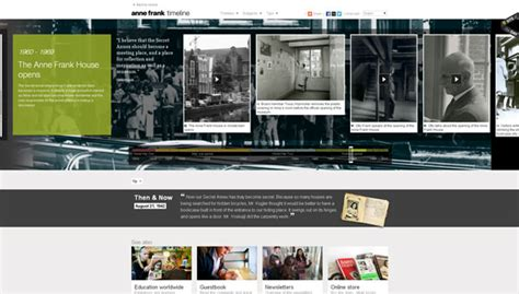 best history website 20 gorgeous exles of timeline in web design for