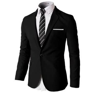Blazer Jas Pria Slim Fit Hitam 1 Welcome To Joyful Shopping