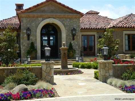 hacienda style homes courtyard designs