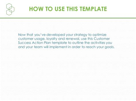 Customer Success Plan Template Your Customer Template