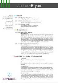 format style scannable resume
