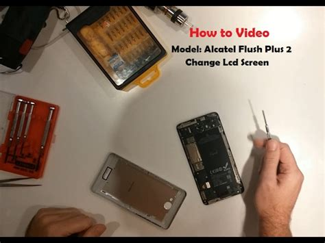 Lcd Flash Plus 2 how to change screen digitizer with lcd on flash plus 2