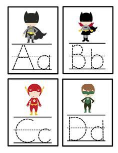 printable superhero number cards 1000 images about super heros and princes on pinterest