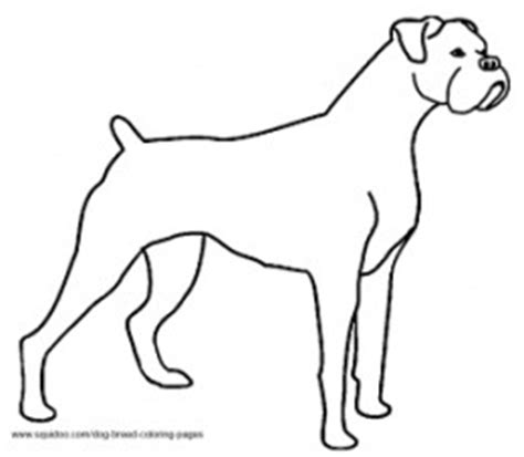coloring pages of boxer dogs breed coloring pages