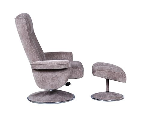 fabric swivel chair dolan fudge velour fabric swivel chair and foot stool