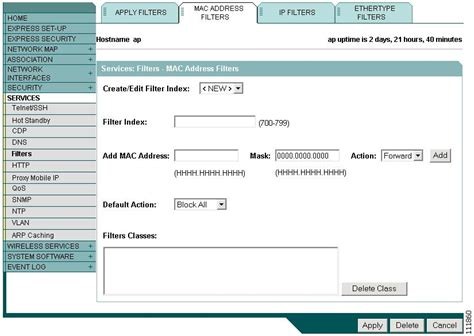 Cisco Mac Address Lookup Cisco Ios Software Configuration Guide For Cisco Aironet