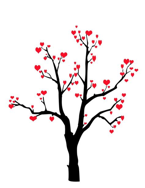 valentines card drawing ideas valentines card idea draw a tree with extended branches