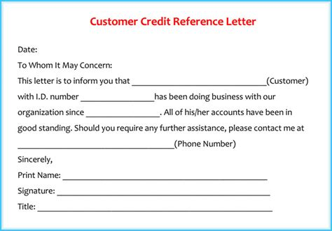 letter cancelling customer credit reference letter exles 20 sles formats writing