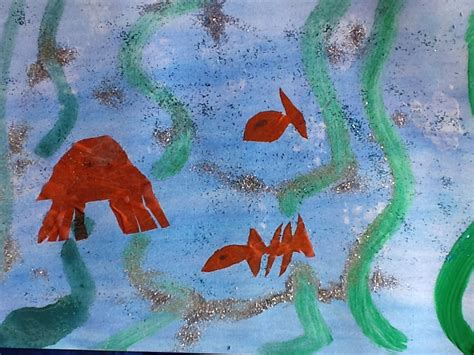 painting ks1 sea preparing for the exhibition year 2