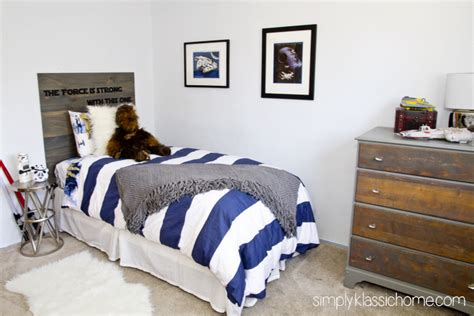 star wars bedroom boy s industrial star wars bedroom makeover reveal