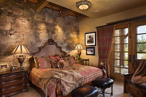 stone wall in bedroom 25 bedrooms that celebrate the textural brilliance of