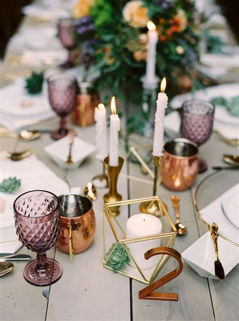 Best 10  Copper wedding decor ideas on Pinterest   Copper