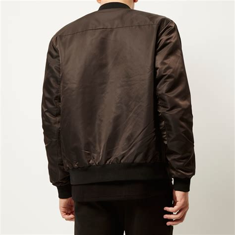 Jaketexpress Boomber Brown Jacket Boomber brown bomber jacket coat nj