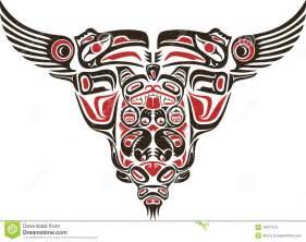 haida style tattoo design stock images image 19671104
