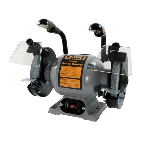 bench grinders at lowes shop buffalo tools 8 in 3 4 hp black bull heavy duty bench