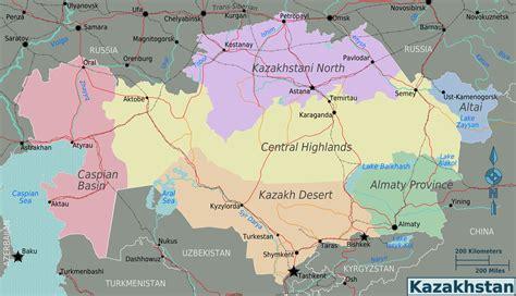 map world kazakhstan maps of kazakhstan map library maps of the world