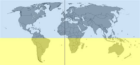 countries of southern hemisphere why do hurricanes spin differently in the northern and