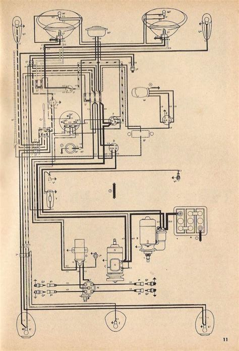 1966 vw up wiring diagrams wiring diagrams
