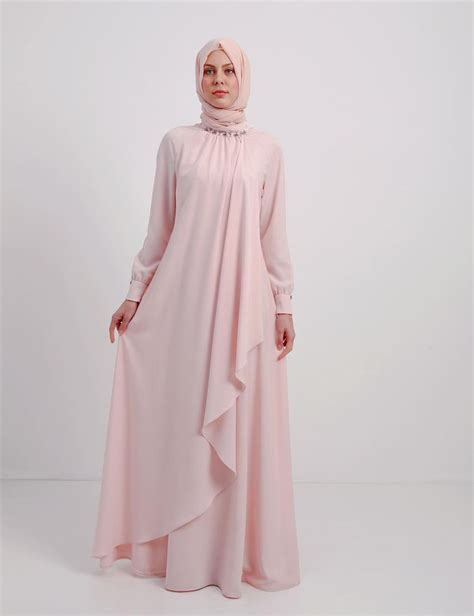 Gamis Syahrini Dress With Shawl 21 overlay design one pieces jubah dress including shawl