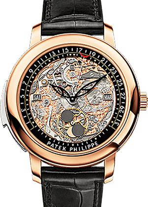 Patek Philippe 4218 Rosegold Leather Automatic 3 Patek Philippe 5304r 001 Grand Complications Perpetual