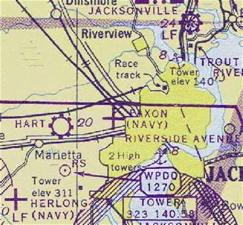 jacksonville sectional chart abandoned little known airfields florida northwestern