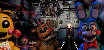 Five nights at freddy s 2 all animatronics by hotfoxwolf on deviantart