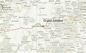 colorado map grand junction grand junction location guide