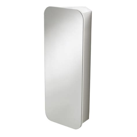 Wall Mounted Bathroom Mirror Buy Wall Mounted White Quot Adelaide Quot Single Door Bathroom Mirror Cabinet Back2bath