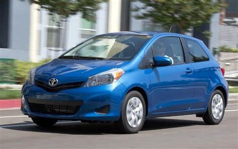 toyota yaris pricing features edmunds