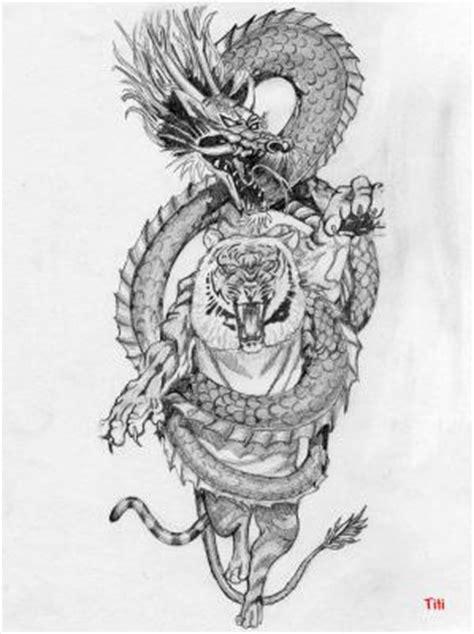 tattoo dragon et tigre tatouage dragon et tigre 1462928678585 my cms