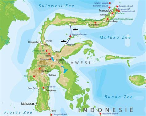 Comfort Diner Bouwsteen Sulawesi Togian Eilanden Bij Van Verre