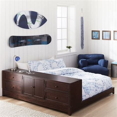 bed with drawer bed ultimate platform bed drawer cabinet set pbteen