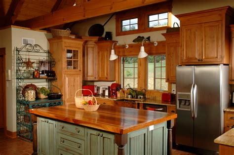 country kitchen island designs rustic and country both are casual kitchen stylesselect