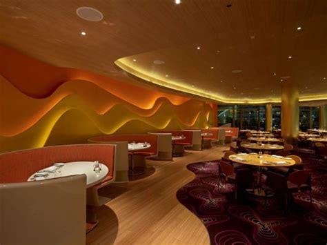 Inside Style Home And Design Las Vegas Plushemisphere Futuristic Restaurant Interior Design By
